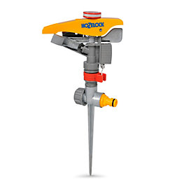 Hozelock Yellow Pulsating Sprinkler