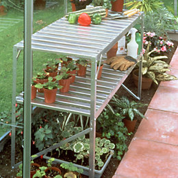Halls Greenhouse Staging