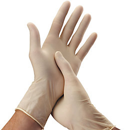 Everyday Medium Household Latex Disposable Gloves, Pack of