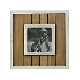 Cream Single Frame Wood Picture Frame (H)22cm x