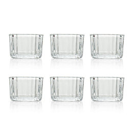 Clear Docklands Glass Tealight Candle Holder