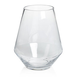 Tapered Glass Vase, Medium