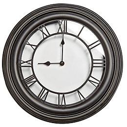 Roman Numeral Vintage Black Wall Clock