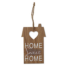 House 'Home Sweet Home' Wood Plaque