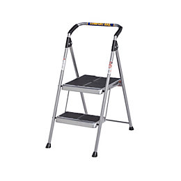 Werner 2 Tread Steel Step Stool