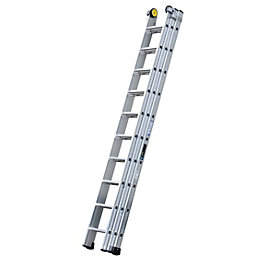 Werner Industrial Aluminium Alloy Triple Extension Ladder,