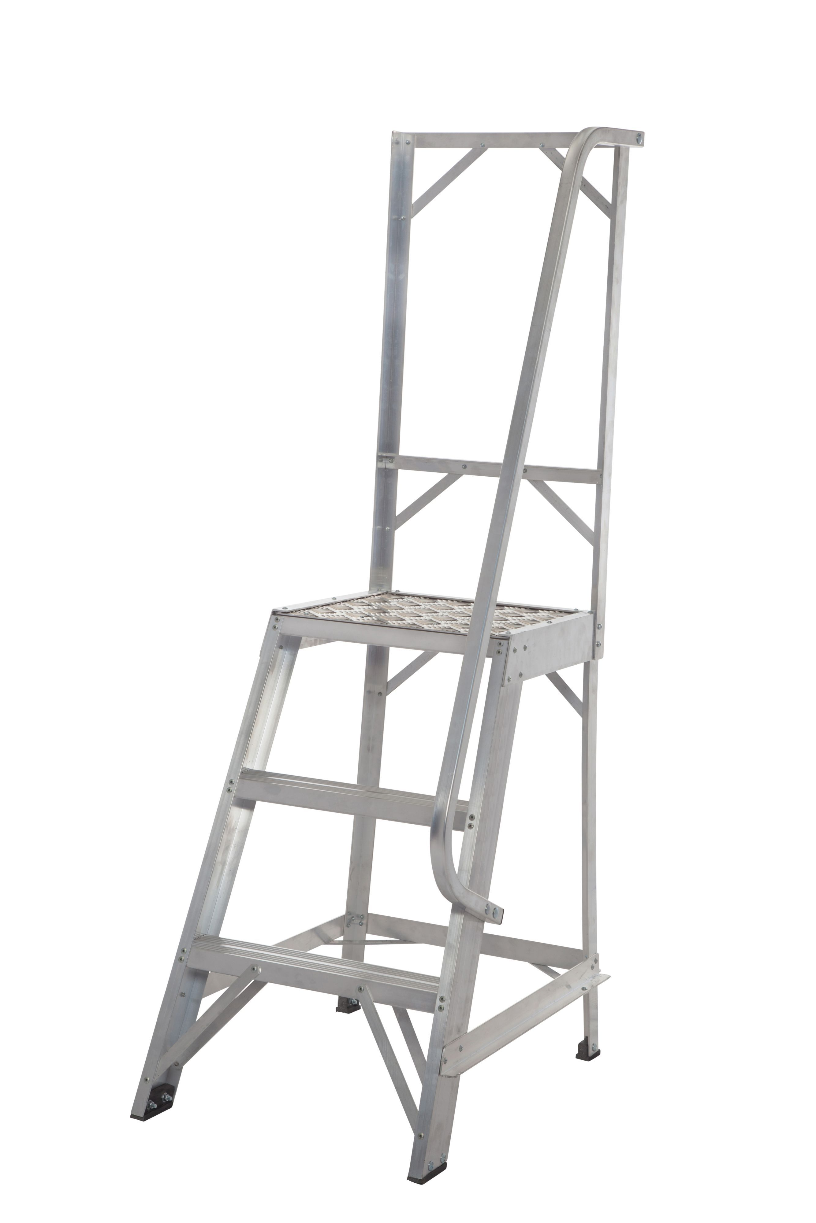 Werner 3 Tread Aluminium Platform Stepladder