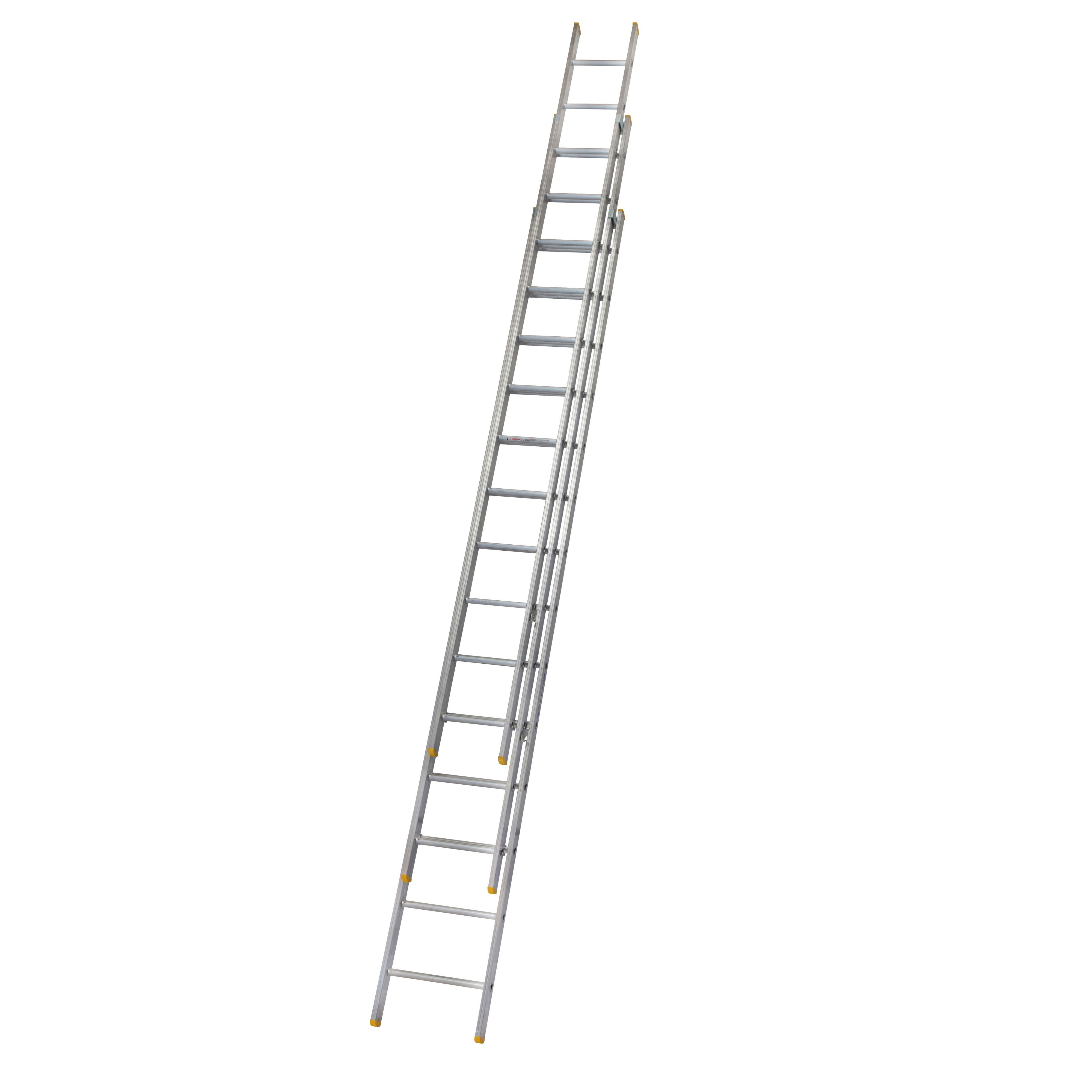 Werner Trade Triple 42 Tread Extension Ladder