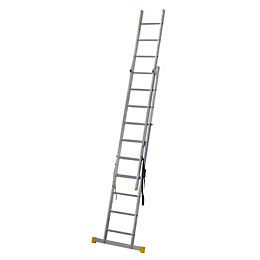 Werner Extensionplus™ Double 3-Way 19 Tread Combination Ladder