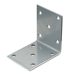 Silver Effect Steel Mini Bracket