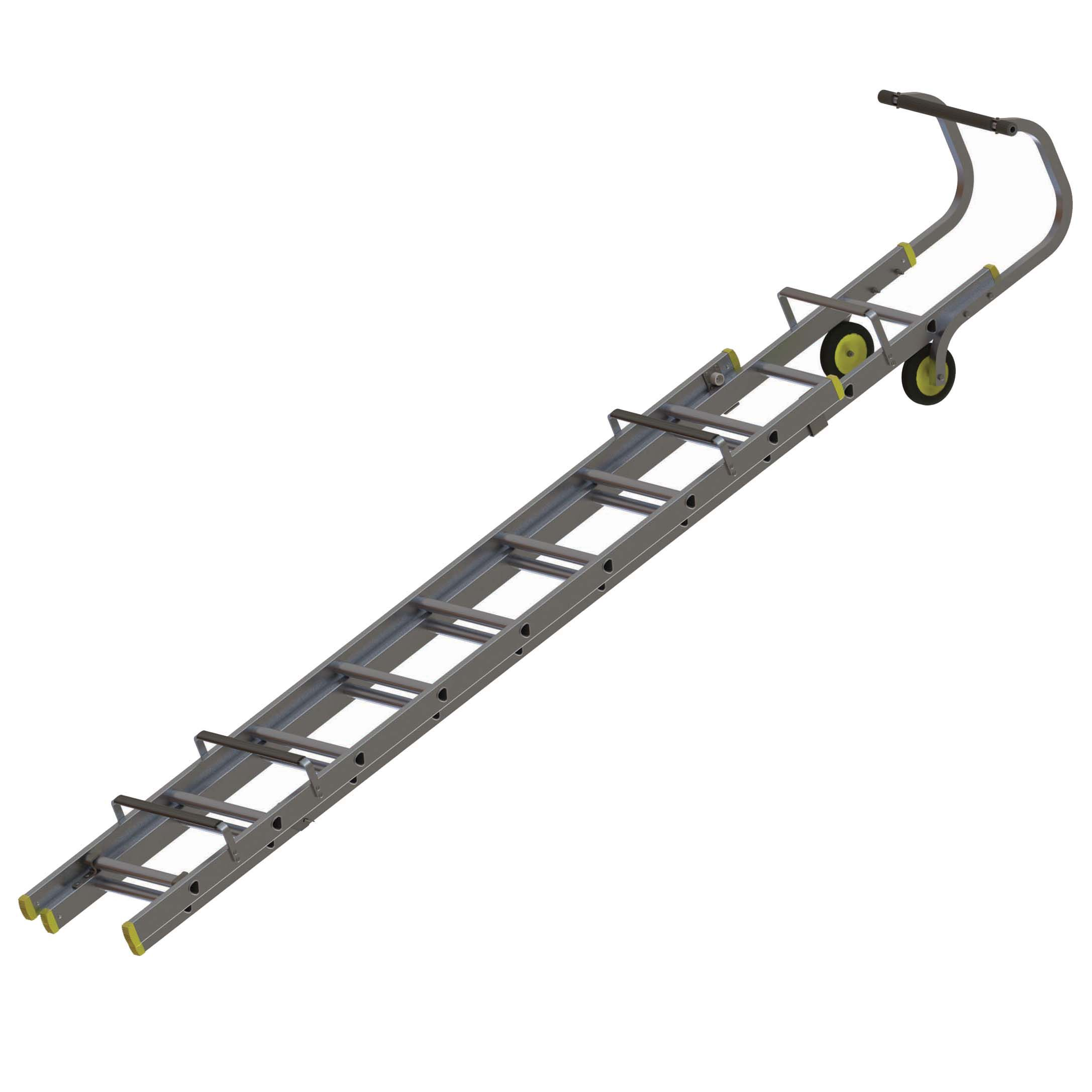 Werner Trade Double 18 Tread Roof Ladder