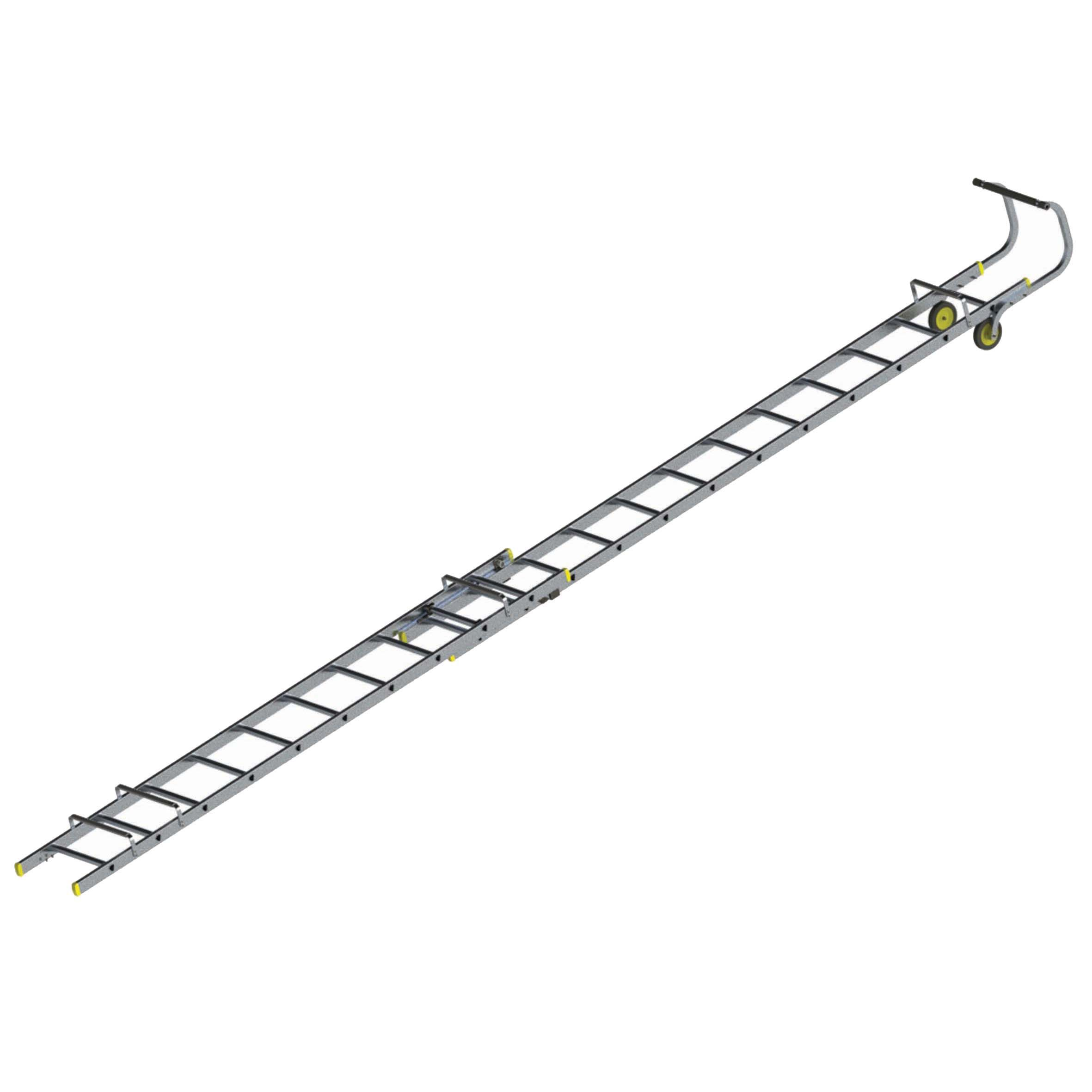 Werner Trade Double 22 Tread Roof Ladder