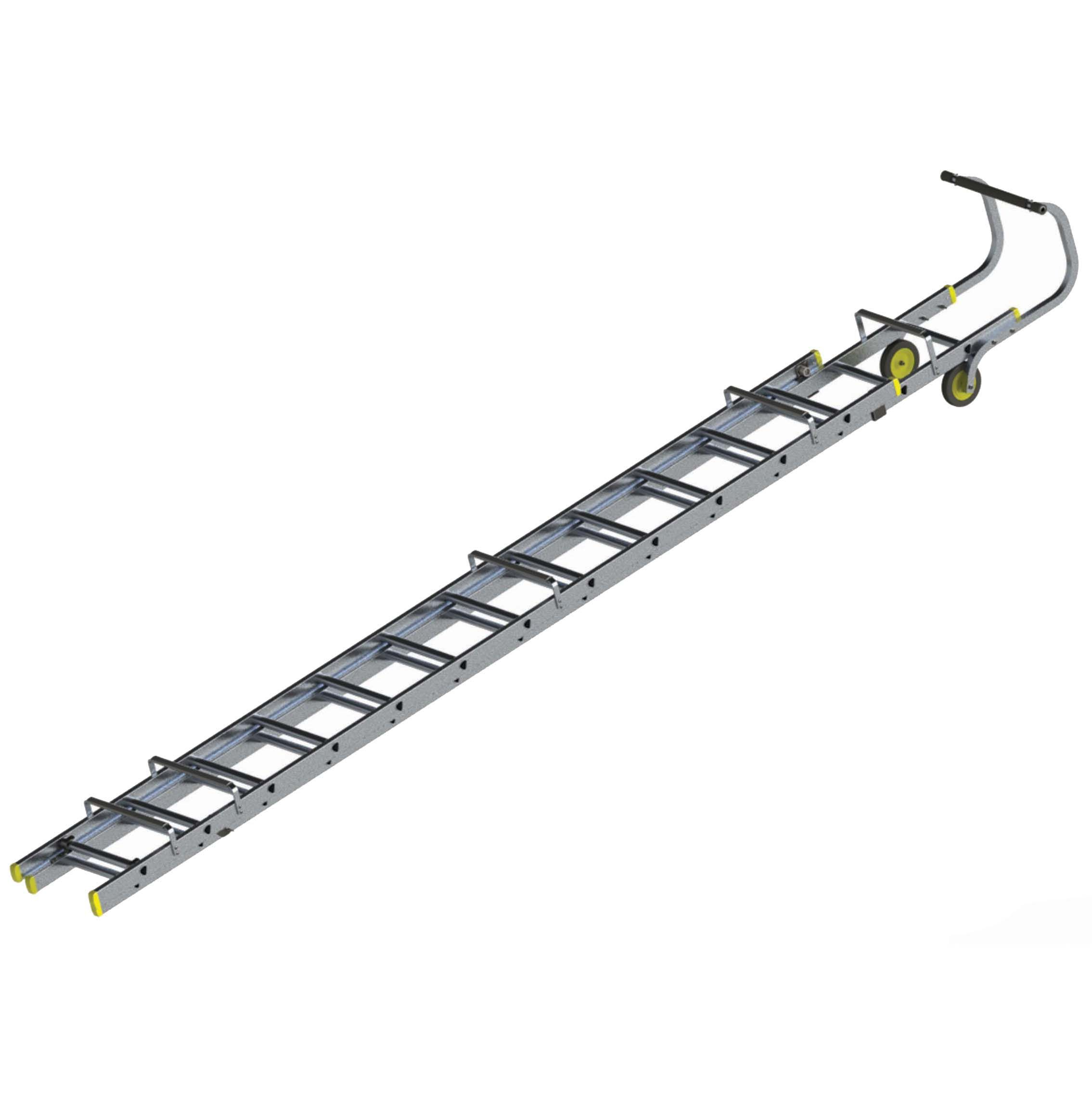 Werner Trade Double 26 Tread Roof Ladder