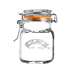Kilner 70ml Clear Glass Mini Clip Top Storage