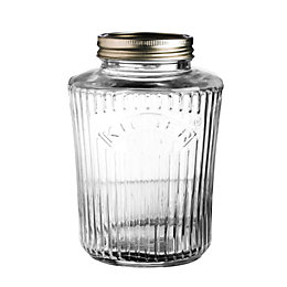 Kilner 1L Clear Glass Vintage Preserve Jar