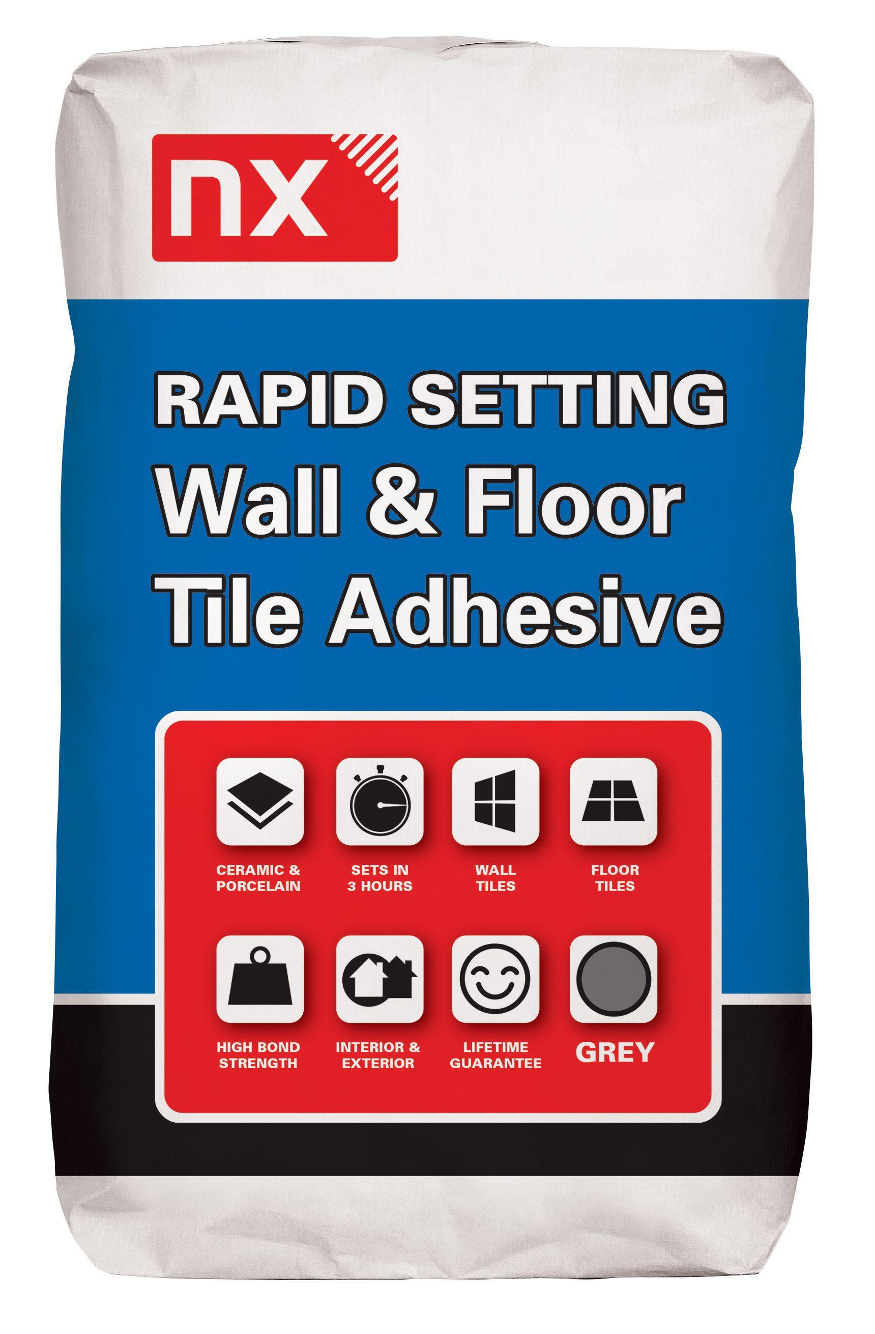 Nx rapid set no floor wall adhesive grey departments diy at bq nx rapid set no floor wall adhesive grey departments diy at bq dailygadgetfo Gallery