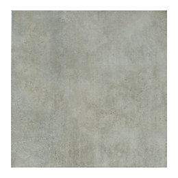 Lombardy Platinum Ceramic Floor Tile, Pack of 9,