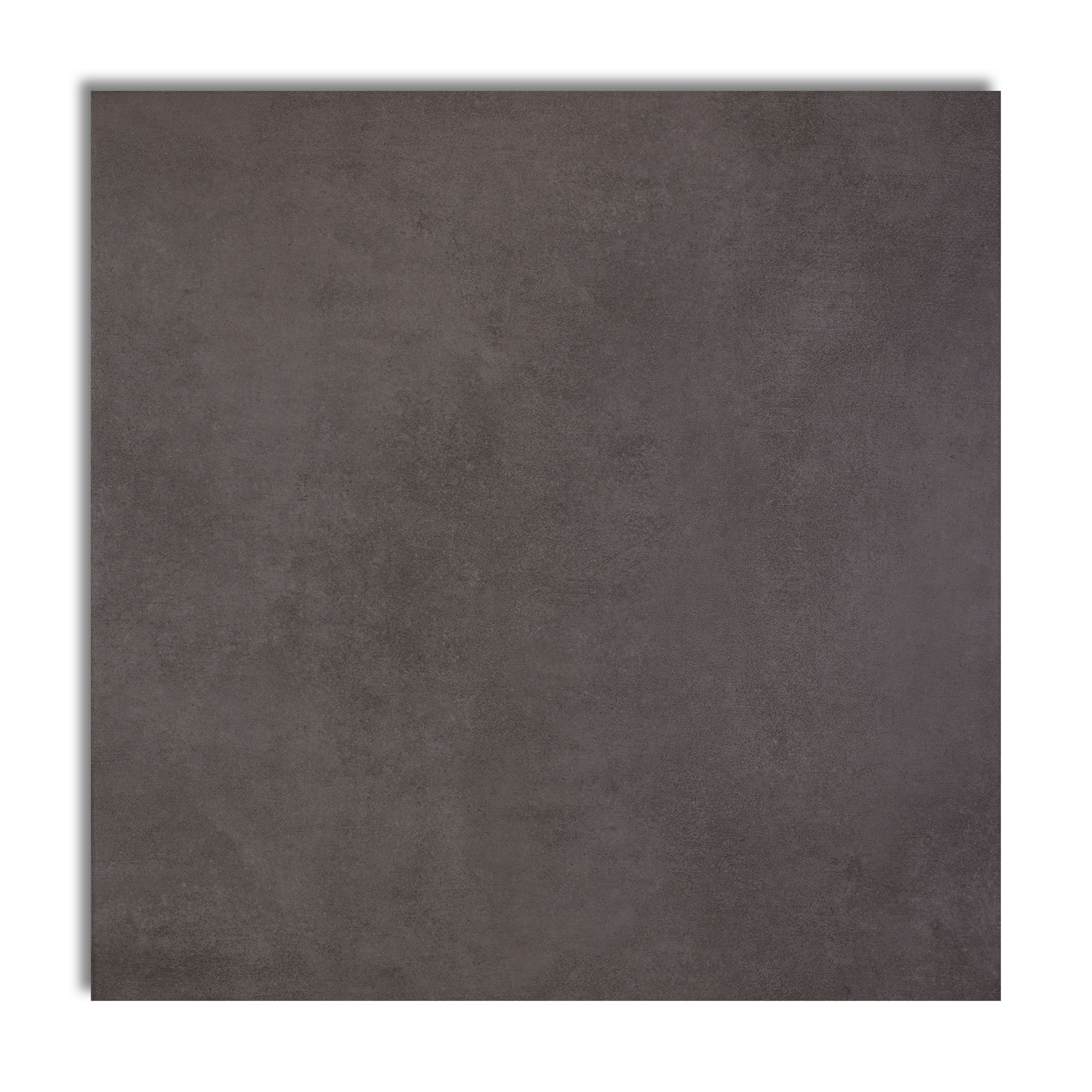 Washington Anthracite Stone Effect Porcelain Floor Tile, Pack Of 5, (l)450mm (w)450mm