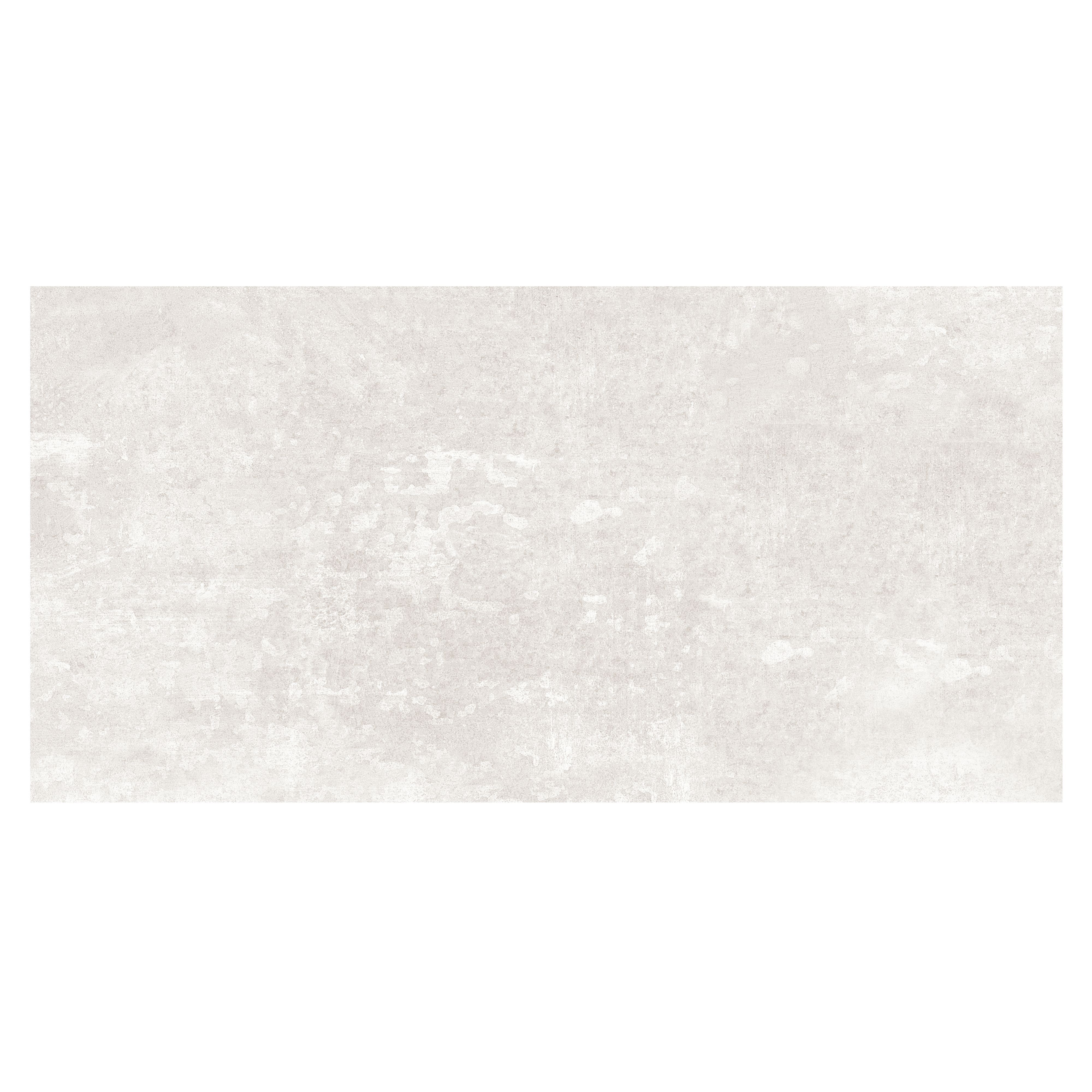 Urban White Stone Effect Ceramic Wall & Floor Tile, Pack Of 5, (l)600mm (w)300mm
