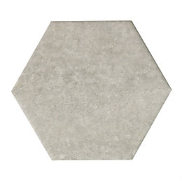 Urban Grey Stone Effect Concrete Effect Hexagon Ceramic