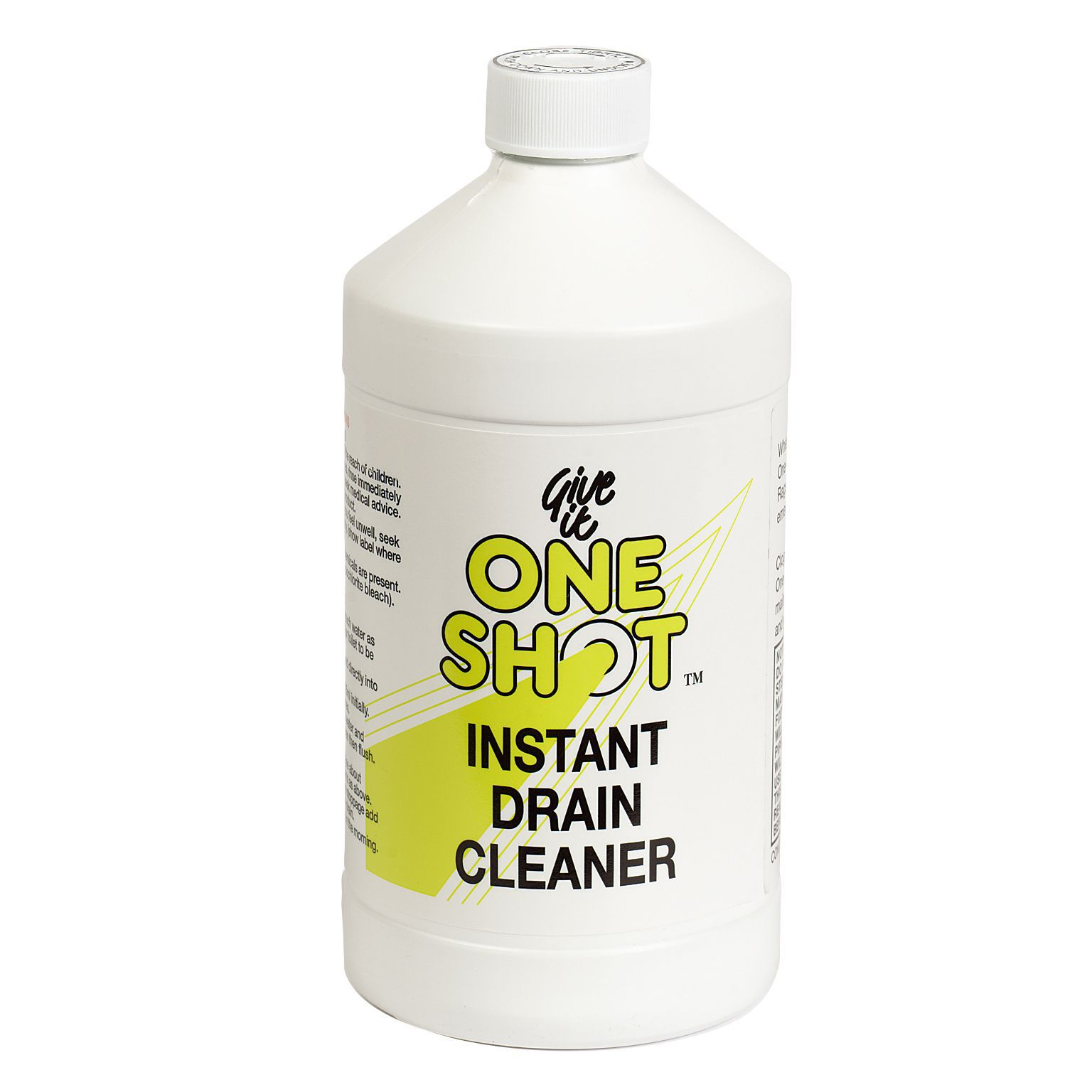 One Shot Drain Cleaner Bottle Departments Diy At B Amp Q