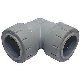 Polyplumb Push Fit Elbow (Dia)28mm