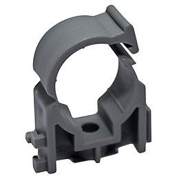 Polyplumb Grey Pipe Clip (Dia)22mm0