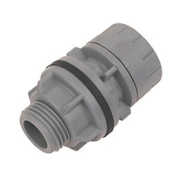 Polyplumb Push Fit Tank Connector (Dia)15mm