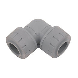Polyplumb Push Fit Elbow (Dia)15 mm
