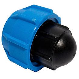 Polypipe Compression Plug End (Dia)25 mm