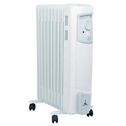 Dimplex Electric 2000W White Oil Filled Radiator