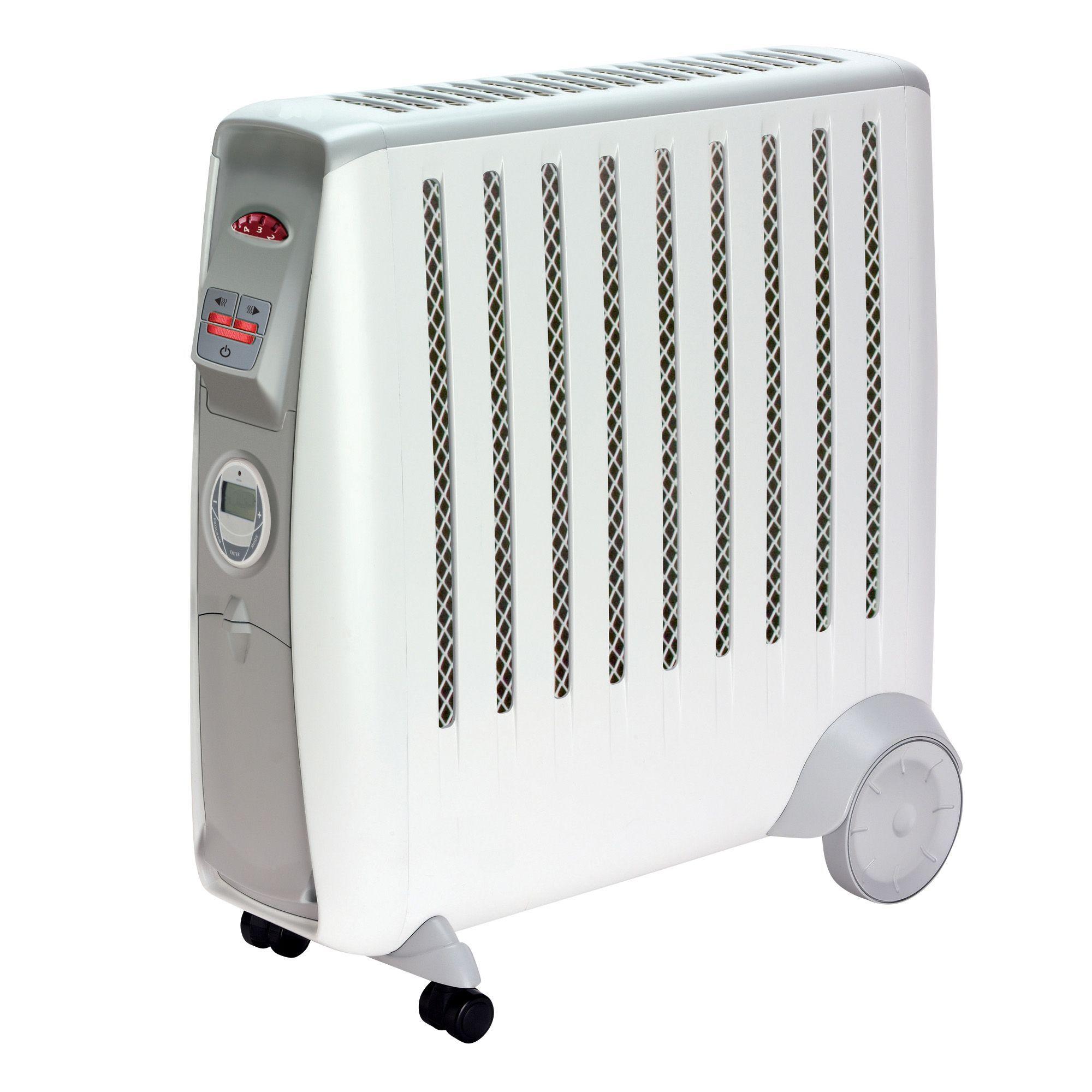 Dimplex Electric 2000w White Cadiz Eco Oil Free Radiator
