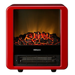 Dimplex Micro-Fire Red Freestanding Electric Stove