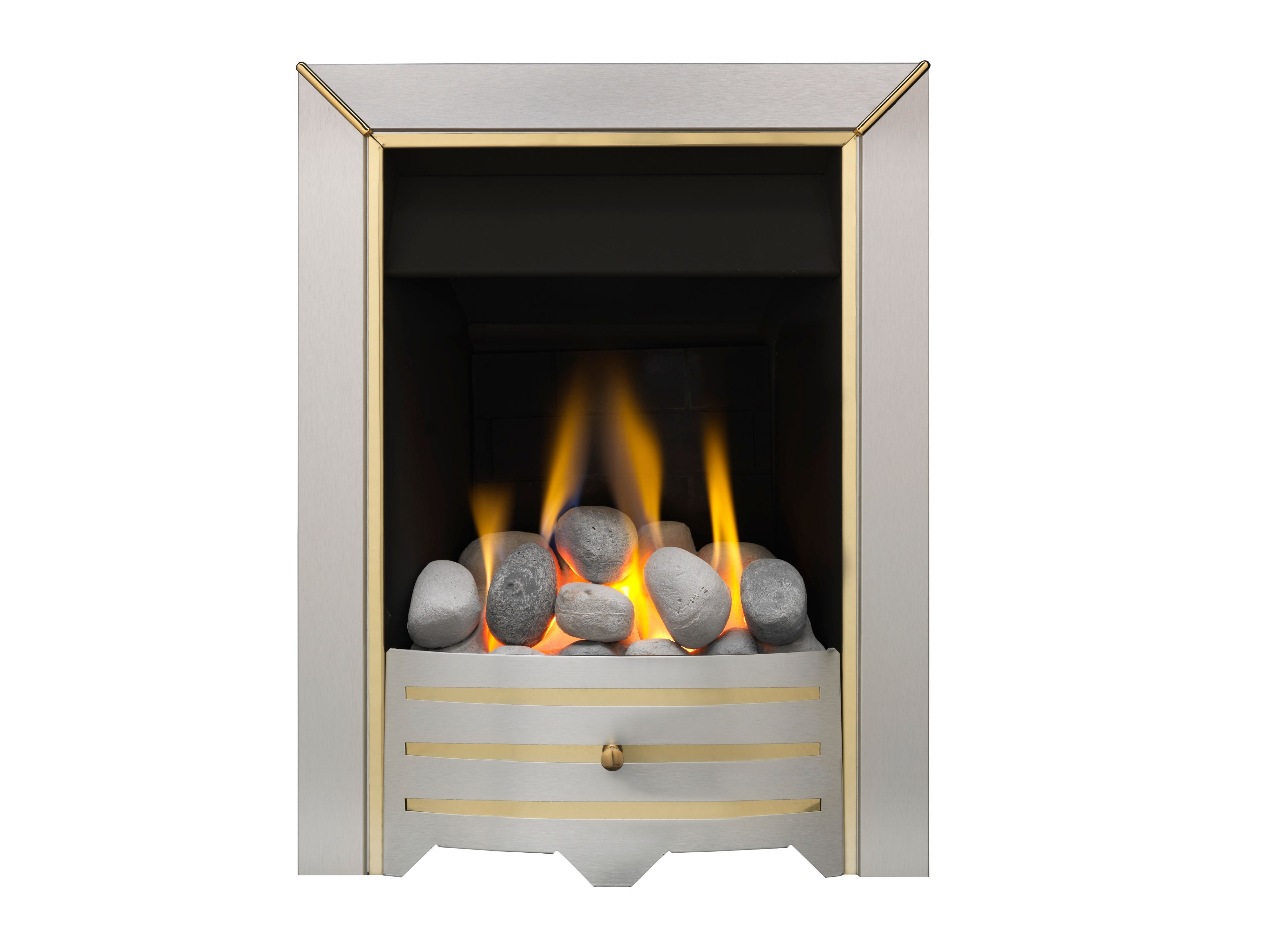 Valor Siva Manual Control Inset Gas Fire | Departments ...