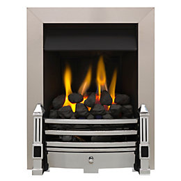 Dimplex Whitsbury Chrome Inset Gas Fire
