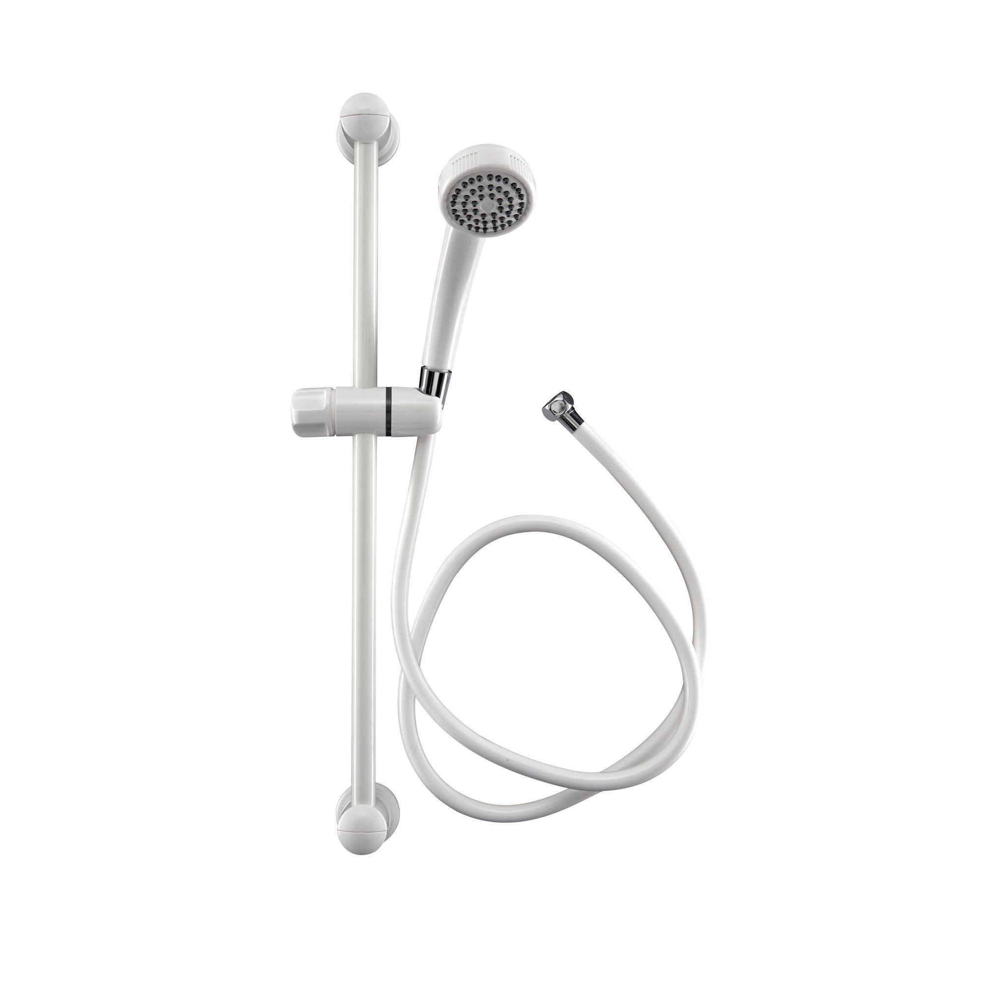 Aqualona White Shower Kit
