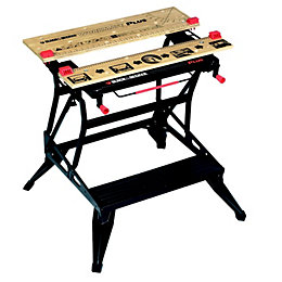 Black & Decker Foldable Workbench, (W)755mm