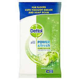 Dettol Floor Cleaning Wipes, Pack of 15