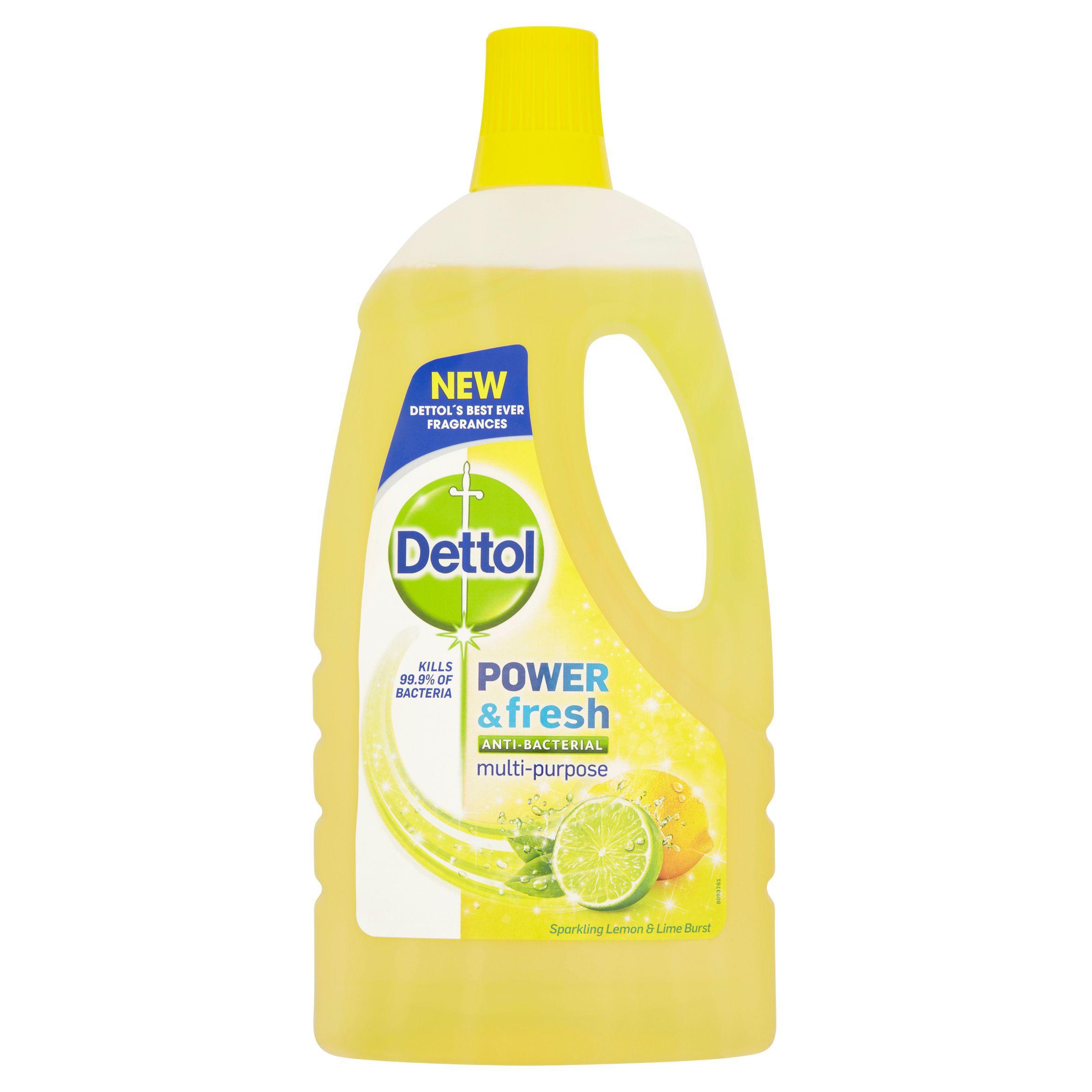 Cif power amp shine bathroom - Dettol Citrus Power Fresh Multi Purpose Floor Cleaner 1 L