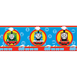 Fun4Walls Thomas The Tank Engine Multicolour Border