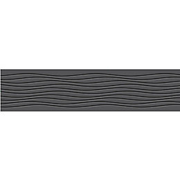 Contemporary Wave Black Border