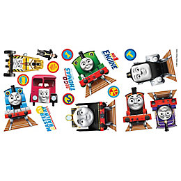 Fun4Walls Thomas & Friends Multicolour Self Adhesive Wall