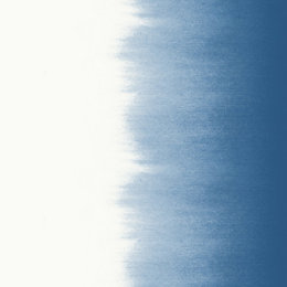 Fine Décor Tie Dye Stripe Blue & White