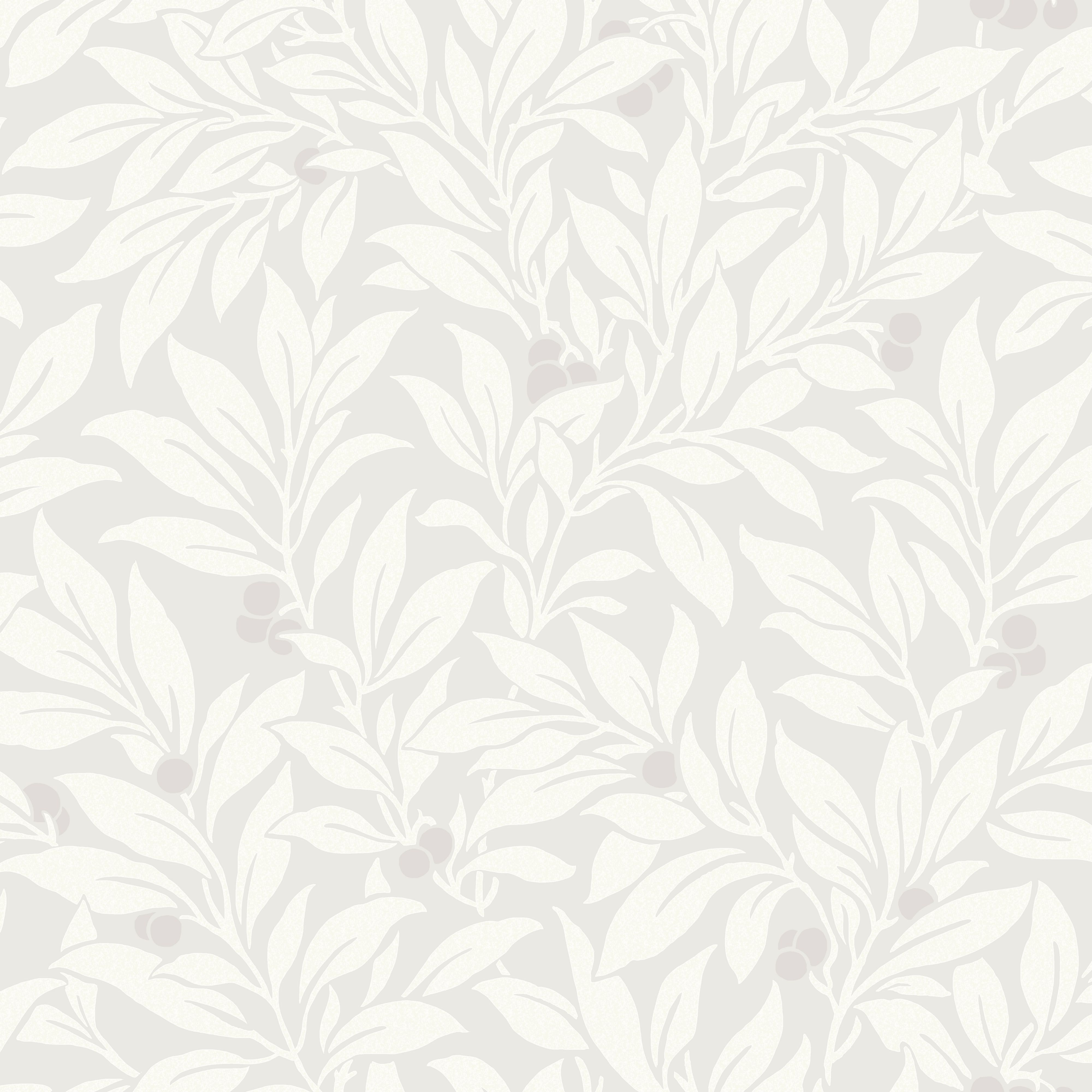 Fine Décor Mulberry Soft Grey Floral Wallpaper