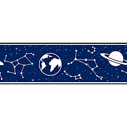 Colours Dark Blue Constellation Border