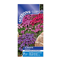 Suttons Aubrieta Seeds, Cheeky Mix