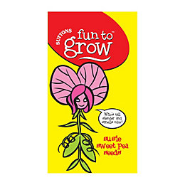 Suttons Fun to Grow Susie Sweet Pea Seeds