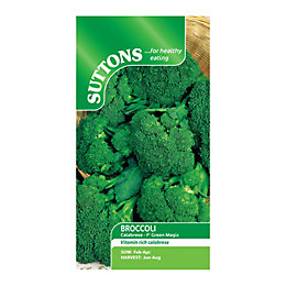 Suttons Broccoli Seeds, F1 Green Magic Mix