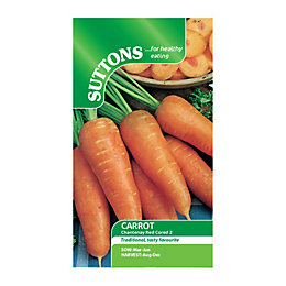 Suttons Carrot Seeds, Chantenay Red Cored 2 Mix