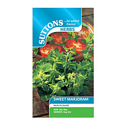 Suttons Marjoram Sweet Seeds, Herb Mix